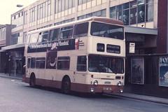 SYPTE Daimler Fleetline CRG6LX/Roe H45/29D 1111 UDT411L in Doncaster (John Hague) Tags: roe daimler fleetline doncaster sypte daimlerfleetline doncastercorporation