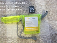 Waterproof case (coupe1942) Tags: camera lenscase cameracase gopro cameraholder goprocamera lensholder sdcardholder