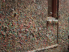 Market Street Gum Wall (carissapod :: fish parade) Tags: seattle wall gum theater market