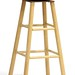 30. Contemporary Woven Seat Bar Stool