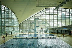 Still Winter Outside (cszar) Tags: water pool architecture swimming germany munich mnchen bayern deutschland bavaria nikon indoor nikkor d600 2470mmf28g captureone7