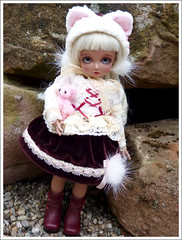 Bambicrony Happy Winter Judy (Icequeen's world) Tags: tiny bjd judy ciaobella icequeen yosd happywinter bambicrony