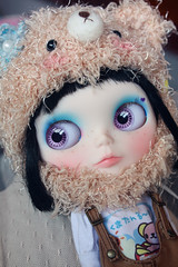 teddy hat for blythe