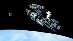 E.A.S.T.E.R. (Erunaamo) Tags: easter lego scifi moc classicspace