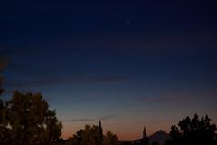 Comet Pan-STARRS over Mt. Washington (ZnE's Dad) Tags: sunset oregon centraloregon stars mtwashington panstarrs cometpanstarrs