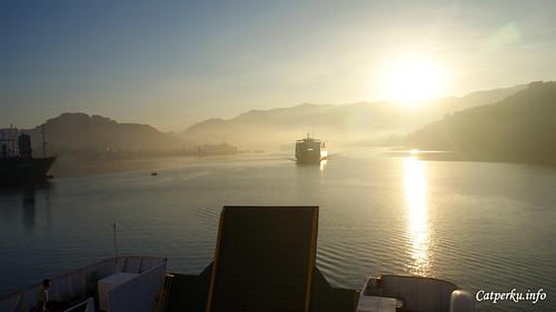 Shining Sunrise In Lombok