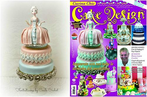 Madame de Pompadour Cake , cover magazine - a photo on ...