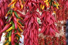 Rack of Ristras (ggppix) Tags: chile ristra santafe nm