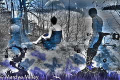 (millayphotography) Tags: blue photography digitalart dreams