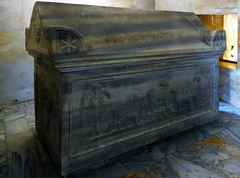 One of three tombs inside the Mausoleum of Galla Placidia