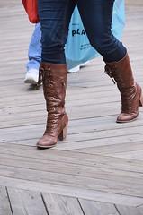 "2013-03-30 (88) Ocean City MD - boots (JimFleenor) Tags: oceancitymd photos photography easter beach girls woman femme frau vrouw donna lamujer dona امرأة жена 女子 žena kvinde nainen γυναίκα האישה nő औरत wanita 女性 여자 kvinne زن kobieta mulher женщина kvinna หญิง kadın жінка ngườiphụnữ boots shoes footwear ""foot boardwalk kneehigh brown foot maryland"