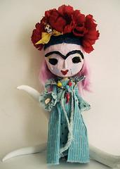 Frankie Edith as Frida Kahlo