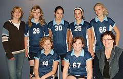2007 Meisjes C3 - Tr. Aletta Gerrits en Margriet de Vos