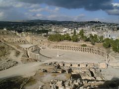 """giordania - Jerash: la """"Pompei dell'Oriente"""" (g.fulvia) Tags:"""