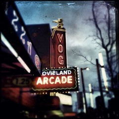 Vogue Theatre (Bhlubarber) Tags: city urban mobile vancouver square theatre nick bad seeds vogue squareformat cave tinto iphone 1884 iphoneography hipstamatic instagramapp uploaded:by=instagram foursquare:venue=4ab5b790f964a520ea7520e3
