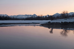 040413 - early morning along the Knik River (Nathan A) Tags: morning mountains alaska river landscape outdoors spring glenn palmer glacier valley peaks range knik chugach floodplain oldglenn