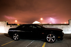 challenger and thunderstorm (glenn d.) Tags: car 8 dodge mopar challenger 2012 srt srt8
