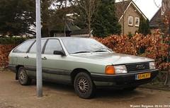Audi 100 Avant 1983 (XBXG) Tags: auto old classic haarlem netherlands car station vintage germany wagon deutschland automobile estate nederland voiture german 100 1983 audi paysbas avant stationwagon deutsch ancienne allemande audi100 stationcar audi100avant 85hlh7