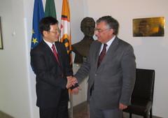 Visita Embaixador da China à Sede Nacional