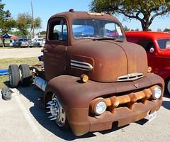 1951 ford COE (bballchico) Tags: ford truck austintexas 50s coe carshow 1951 lonestarroundup rickyespinoza lonestarrodkustomroundup2013 lonestarroundup2013