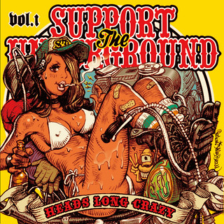 SUPPORT THE UNDERGROUND / HEADS LONG CRAZY Vol.1