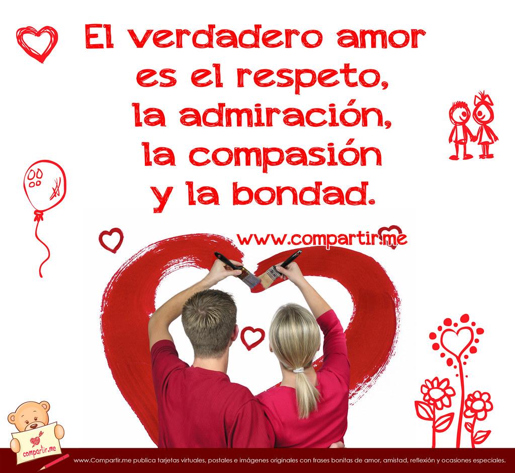 Frases de amor Frase acerca del verdadero amor con imágenes de enamorados Frases Amor
