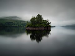 FADE TO GREY (explore) (kenny barker) Tags: explore trossachs rockpaper daarklands olympusep1 kennybarker