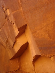 """""""Dialogue About Space 3""""  DSC06414 (kluehirschSnowpine) Tags: light shadow arizona abstract color nature utah sandstone reality navajo monumentvalley natureasartist"""
