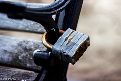 bench on lock down pt2 @ 1.5 (PJC Photography) Tags: canon bench bokeh lock helios t3i helios402 crazybokeh canont3i heliosbokeh 402bokeh
