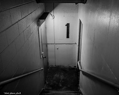 Stairwell One (that_damn_duck) Tags: stairs stairwell one bw blackwhite
