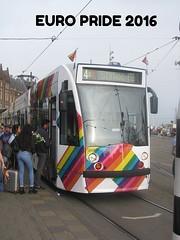 EURO PRIDE Tram GVB 2098 (streamer020nl) Tags: amsterdam 2016 260716 holland nederland paysbas niederlande netherlands centrum citycentre europride