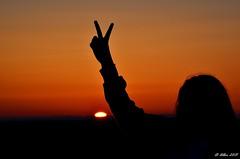 puesta de sol, victoria... (Alberto Fer.) Tags: sol color atardecer anochecer victoria puesta de colores naranja nikon 5100 villan tordesillas valladolid castilla y leon espaa natural naturaleza victorias aire libre libertad v paisaje campo airelibre puestadesol castillaylen