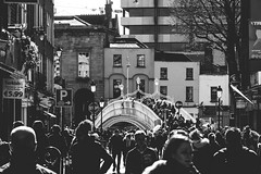 people () Tags: street ireland portrait people blackandwhite bw dublin irish monochrome easter photography rising anniversary crowd streetphotography 100th groupshot centenary