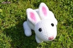 Conejo (Arte Friki) Tags: amigurumi conejo bunny crochet ganchillo