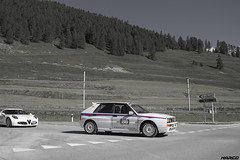 Rally shape (Iceman_Mark) Tags: lancia delta integrale evo design giorgetto giugiaro italdesign white martini racing 1992 1990s 2litre turbo four cylinder motorsport rally summer passione engadina 2016 schanf stmoritz engadin graubnden switzerland alps