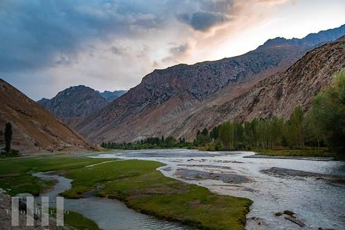 Ghayrosan Valley near Ghazza, Fann Mountains, Tajikistan.