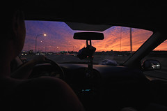 A July Sunset (melinaparkinson) Tags: sunset sky clouds driving travel adventure explore wander wanderlust roam