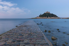St Michael's Mount, Marazion, Cornwall (T J G photography) Tags: nikkor vanishingpoint 2470 cloud nikon sky d610 stmichaelsmount marazion cornwall dawn sunrise