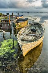 racons del delta 1 (Josep M.Toset) Tags: aigua barca baixebre catalunya d800 deltadelebre josepmtoset matinada mar marina mediterrani nvols nikon paisatges pesca sortidadesol lucroit hitech
