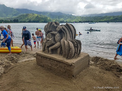 Hanalei_Sand_Castle_Contest-24 (Chuck 55) Tags: hanalei bay sand castle hawaii