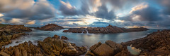 Canal Rocks Sunset (Astronomy*Domine) Tags: westernaustralia south west yallingup canal rocks 10 stop nd filter canon 6d tamron 2470 longexposure pano panorama sunset clouds water