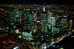 all that I might see (keith midson) Tags: melbourne city night skyline lights australia