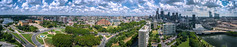 from above (k.pat) Tags: from above philadelphia pennsylvania philly pa panorama pano skyline downtown museum art ben frankiln pky fairmount park sky fly aerial photo photography phantom dji waterworks high resolution res large schuylkill river