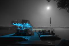 LAKE KOSHKONONG (Jovan Jimenez) Tags: fog long expo exposure canon 70d eos tokina atx 116 pro dx ii 1116mm f28 wisconsin lake koshkonong edgerton blue boat water trees pontoon jet skies light cinematic dock moon haze canopy quiet calm tranquil