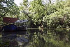 Omi, Croatia (steven.kemp) Tags: split croatia cruise thomson dream adriatic river cetina radmanove mlinice water reflection boat tree