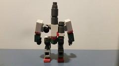 Lego Bastion Back (Libra Customs) Tags: lego blizzard overwatch bastion custom