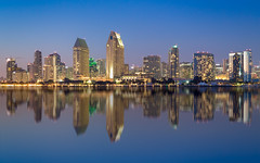 San Diego skyline - Photoshopped :-) (jason_frye) Tags: sandiego photoshop blur coronadoisland ferry california