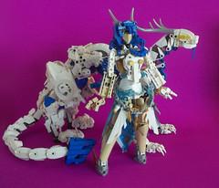 Evol Cherri (Alieraah) Tags: lego bionicle moc angel archangel dragon