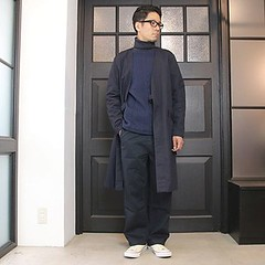 September 26, 2016 at 07:52PM (audience_jp) Tags: style fashion    tokyo  audience kimono  ootd  navy japan