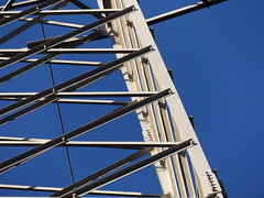 Tge Grid (gittermasttyp2008) Tags: gittermast gittermasten gitter germany energie electricitytower latticetower latticeclimbing powertower powerpole power pylon freileitung gros highvoltage voltage transmissiontower transmission altatension hautetension electricitypylon strommast strommasten strom stahlgittermast stahl sun sunny sky art kunst himmel technik german